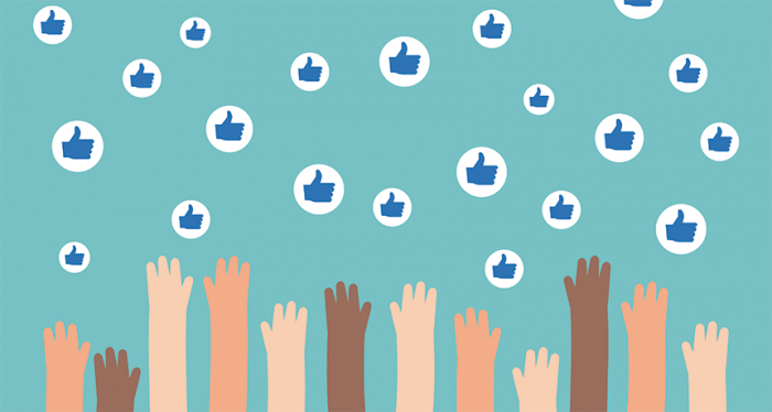 "People who post on social media want their offerings to garner legions of likes. Most readers also tend to share those posts that have gotten a large quantify of ""likes."" So very popular posts go on to become even more popular. This can greatly affect what goes viral."